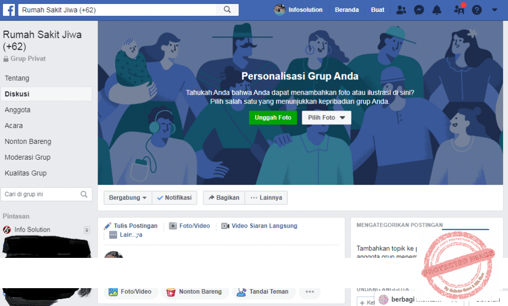 The Easy Way To Make A Facebook Group From The Facebook Page We Have Already Maked Info Solution