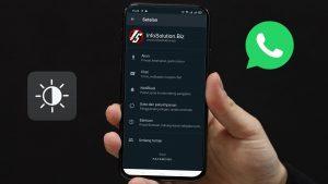 Tutorial Mengaktifkan Fitur Mode Gelap atau Dark Mode di WhatsApp