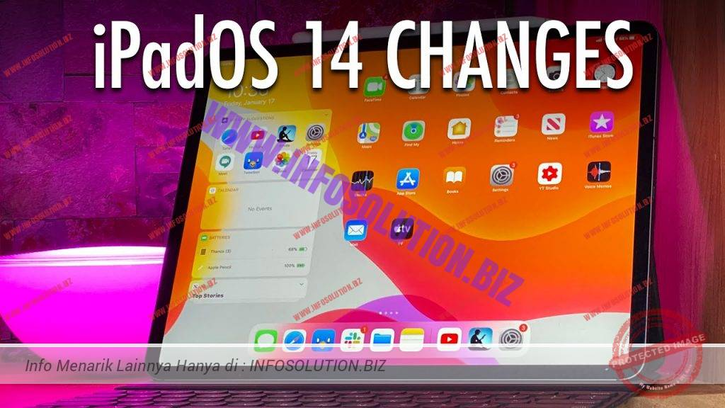iPadOS 14 Changes