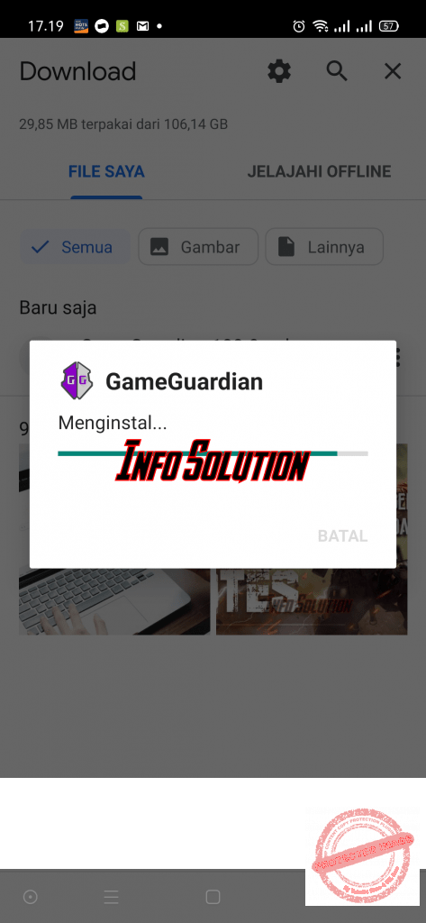 Install Game Guardian