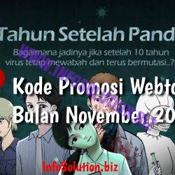 Kode Promosi Webtoon Bulan November 2020
