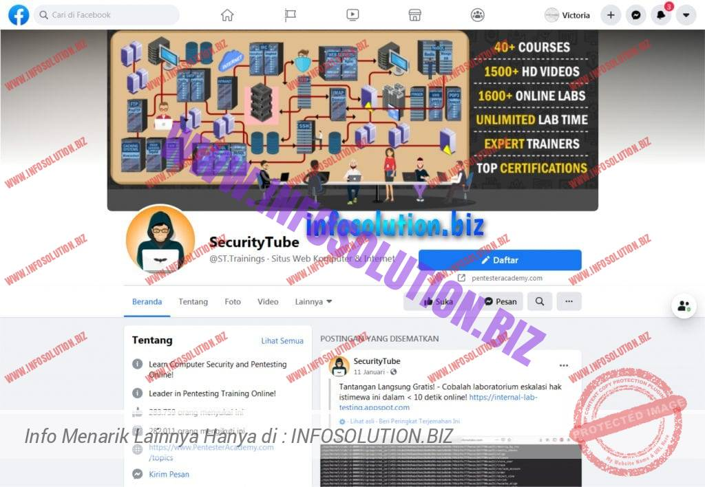 SecurityTube Fans Page Facebook