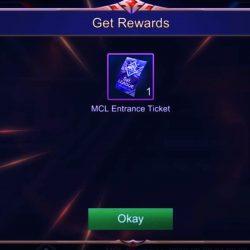 Tiket MCL Mobile Legends