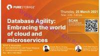 Pure Storage - Database Agility Embracing the world of cloud and microservices