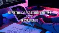 Supporting BCVRE Study Guide Chapter 3 TCP/IP
