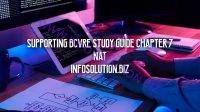 Supporting BCVRE Study Guide Chapter 7 NAT