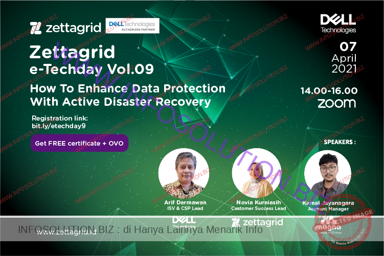 Zettagrid e-Techday Vol. 09 How to Enhance Data Protection with Active Disaster Recovery