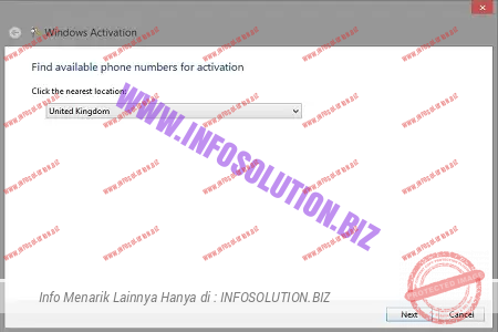 Find available phone number for activation