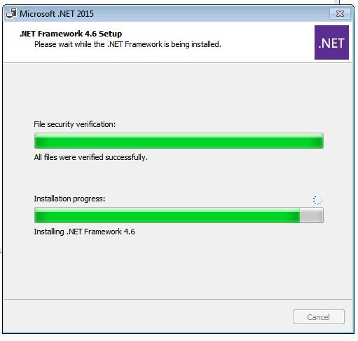 Install Net Framework 4.6