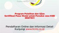 Program Pelatihan dan Ujian Sertifikasi Pasar Modal untuk Pemakai Jasa KSEI